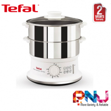 Tefal 6L Stainless Steel Convenient Food Steamer VC1451