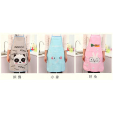 Transparent Cartoon Waterproof Apron