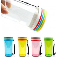 350ml Rainbow-shaped Plastic Water Bottle