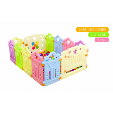 Children Playpens (10 Pieces + 1 Door + 1 Game bar)