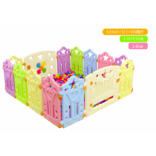 Children Playpens (12 Pieces + 1 Door + 1 Game bar)