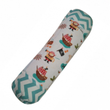 Homey Baby Bolster (With Cover) -Pirates X 1pc