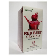NATfood Red Crystals Net Contents : 125G