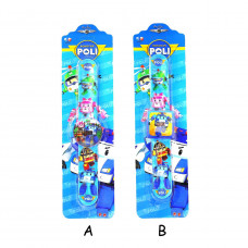 Robocar Poli Silicone Tape Pat Watch