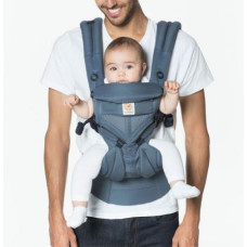 Ergobaby Omni 360 Baby Carrier All-In-One Cool Air Mesh - Oxford Blue