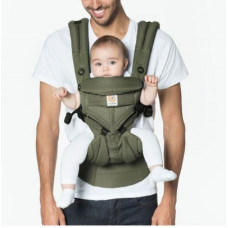 Ergobaby Omni 360 Baby Carrier All-In-One Cool Air Mesh - Khaki Green