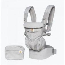 Ergobaby Omni 360 Baby Carrier All-In-One Cool Air Mesh - Pearl Grey