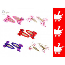Yona Fashion Ribbon Hair Clips (Each pair)