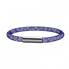 Her Jewellery Meshy Bracelet (Purple)