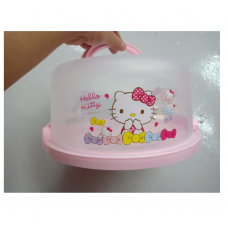 [H-208] Hello Kitty Melody Plastic Portable Cake Box 8""