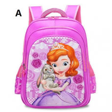 [G-010] 3D Sofia Backpack Student School Bag
