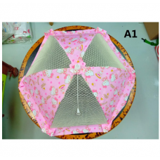 [H-205] Hello Kitty Melody Twin Stars Foldable Food Cover