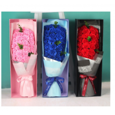 33pcs Carnations Soap Flower Bouquet