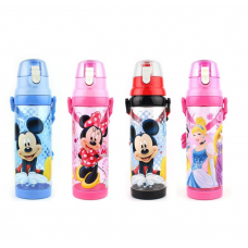 [W-011]Disney Cartoon Portable Children Non-Straw Water Bottle /Tumbler 650ml