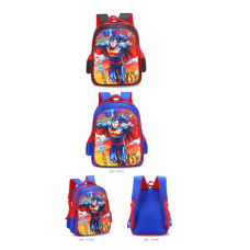3D Superman Backpack Student School Bag