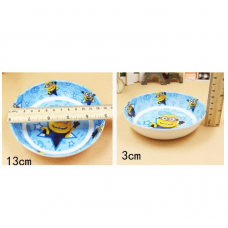 [H-384]  Cartoon Kitty Melody Frozen Doraemon Dessert Plate 2