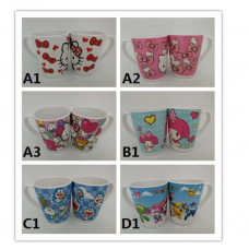 [H-344] Cartoon Kitty Melody Doraemon Thomas Duffy Cup