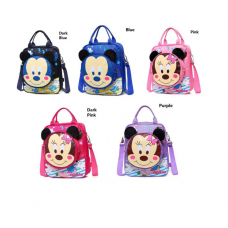 [G-308] Mickey Minnie Three ways Cartoon School Bag Tuition Bag