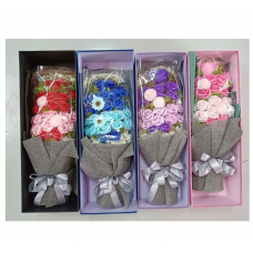 [SP-002] 22pcs Rose Soap Flower Bouquet