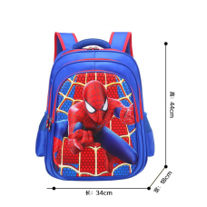 [G-011] 3D Spiderman Backpack Student School Bag