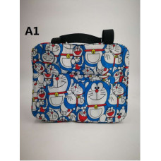 [719] Doraemon Chipmunks Duffy Insulated Thermal Cooler Lunch Bag Lunch Box Bag