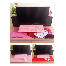 [H-358] Hello Kitty Melody Long Keyboard Mouse Pad