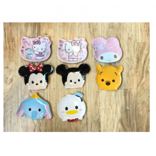 [H-383] Cartoon Kitty Melody Tsum Tsum Dessert Plate