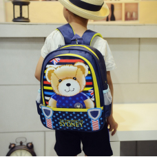 [G-137] Bear School Bag Backpack for Kids