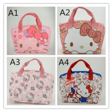 [H-717] Hello Kitty Melody nsulated Thermal Cooler Lunch Bag Lunch Box Bag