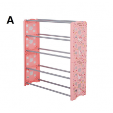 [H-357] Hello Kitty Shoes Rack Shelves