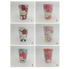 [H-380] Cartoon Kitty Melody Doraemon Cup