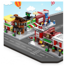[SD6600-6607] Sembo Small Size Mini Street Lego Brick Blocks