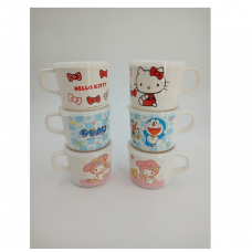 [H-345] Cartoon Kitty Melody Cup with Plastic Cover