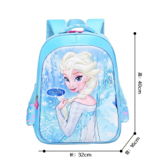 [G-509] 3D Frozen Anna Backpack Student School Bag