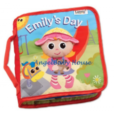 Lamaze Emily's Day Cloth Book Soft Book baby kids development learning book toy