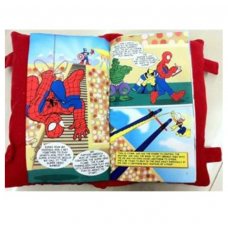 Disney story book pillow Spiderman and friends baby kids children pillow book