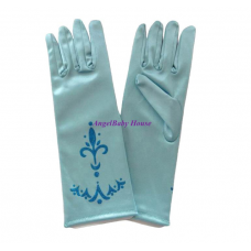 Frozen Anna Elsa princess Gloves light Blue Dark blue 3-12 years