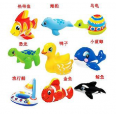 INTEX Baby Cutie bath swimming small toy kids children animal toy