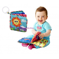 Lamaze Classic Discovery Cloth Book Soft Book with hook