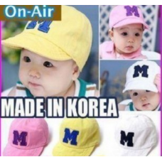Baby Kids toddler hat cap logo M good quality RM 12.00 PINK ONLY