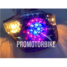 Honda Ex5 Dream Tail Lamp Light LED Strobe Version Smoke
