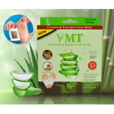 VMT Aloe Vera Cleaning Detox Foot Pads (10 Pads)