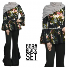 Blouse with pants#669
