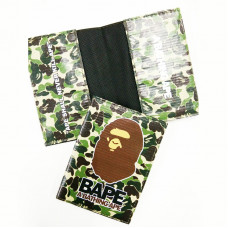 A Bathing Ape Camo Passport Cover