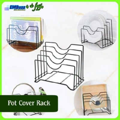 Multilayer Pot Cover Frame, Plate, Cutting Bord Storage Racks, Rak Penutup Periuk.