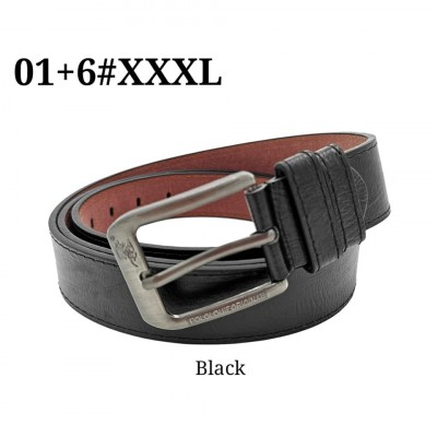 Original Polo Louie Men's Leather XXXL Belt Casual Jeans Extra Long Waist Strap Belts 01+6#XXXL