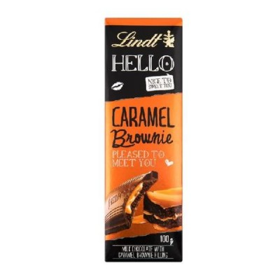Lindt Hello 100g Caramel Brownie
