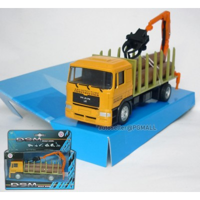 Architecture Constructure -MAN Log truck with Grapple Crane