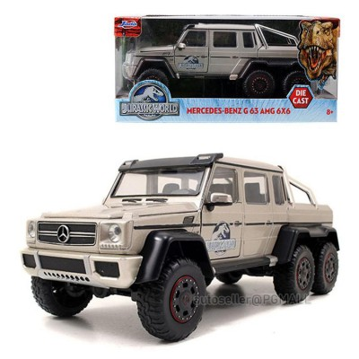 Jurassic World 2015 -MERCEDES BENZ G63 6x6 AMG 1/24 MODEL