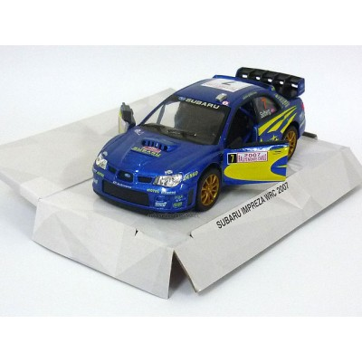 Subaru Impreza WRC 2007 1/36 model car - Street Fighter